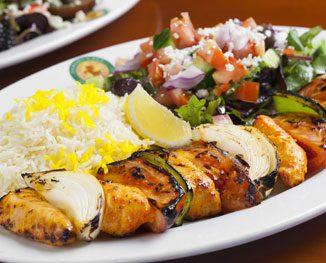 Kabob dish